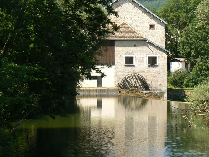 Moulin au village